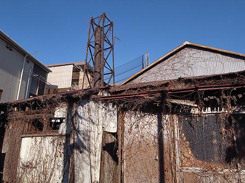 大森東の廃屋