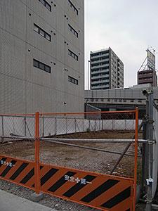 三田1丁目の空地