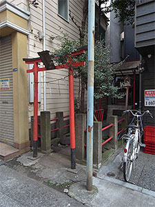 善處稲荷神社(新橋)