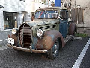 フォードのピックアップ・トラック1938年製