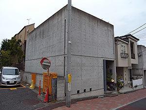 窓のない家(松濤)