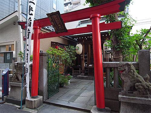 三光稲荷神社(日本橋堀留町)