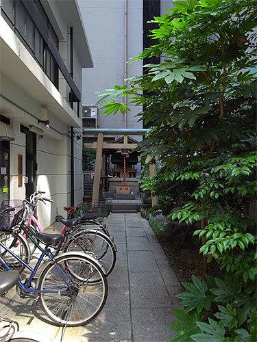 池洲神社(日本橋堀留町)