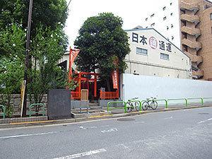 金綱稲荷神社(神田和泉町)