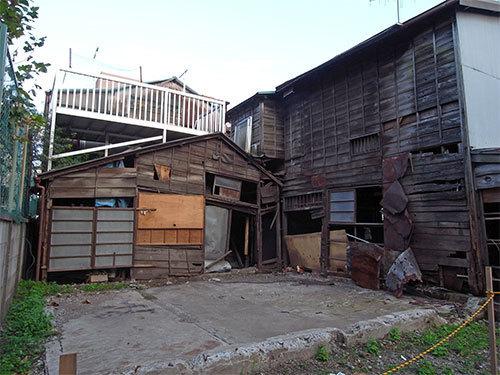 荏原4丁目の廃屋