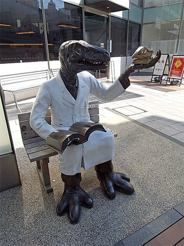 ふくい南青山291の恐竜博士