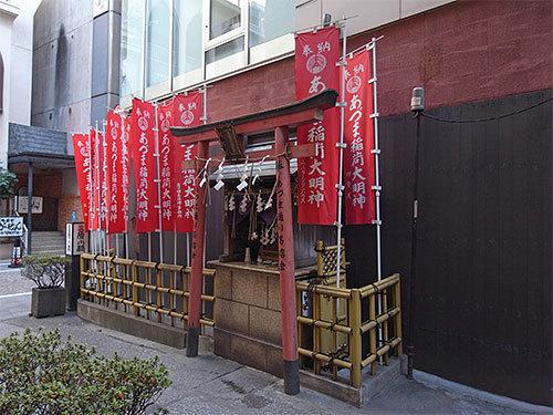 あづま稲荷神社(銀座)