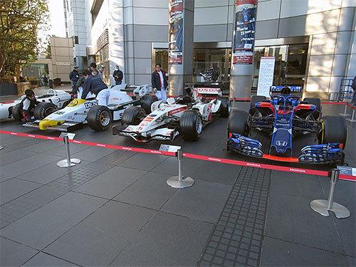 ホンダ歴代F1マシン