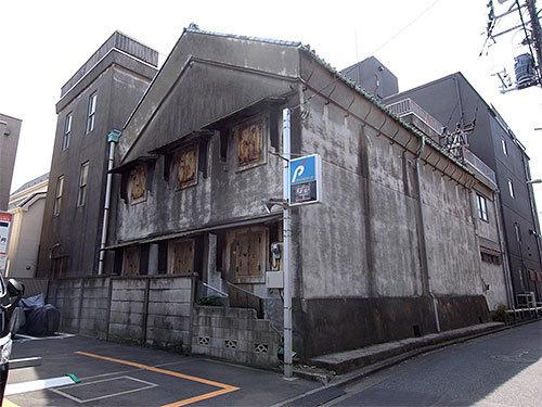 金子海苔店倉庫