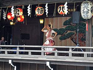 渋谷金王八幡宮神楽殿