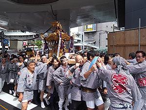 渋谷金王八幡宮例大祭神輿渡御