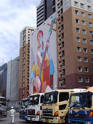 東横インの壁画(東品川)