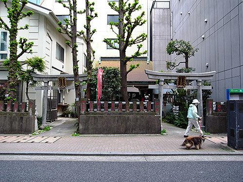讃岐小白稲荷神社(浜松町)