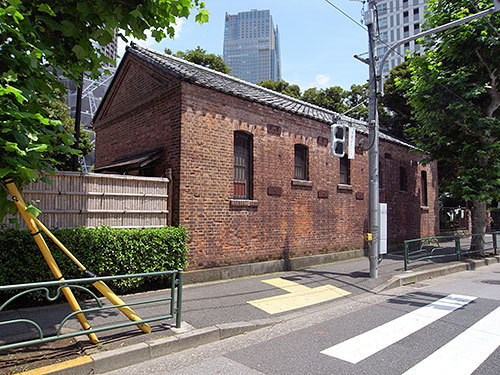 旧乃木邸の厩(赤坂)