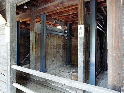 旧乃木邸の厩の内部(赤坂)