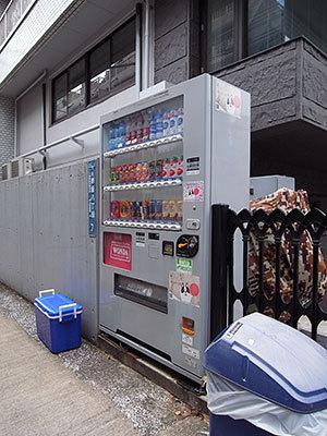 保護色自販機(赤坂)