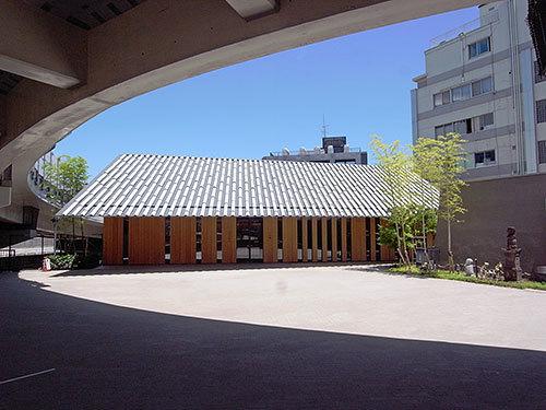 一行院千日谷会堂(南元町)