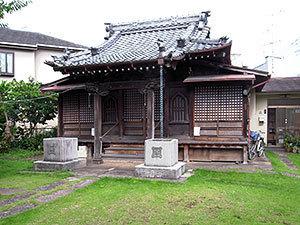 碑文谷鬼子母神堂(目黒本町)