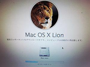 ライオンをインストール