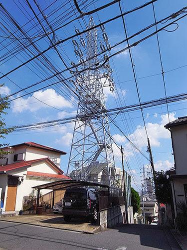 代田の丘の61号鉄塔
