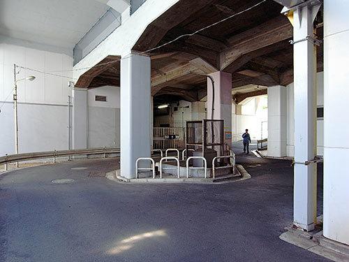 小田急ガード下(代々木上原駅)