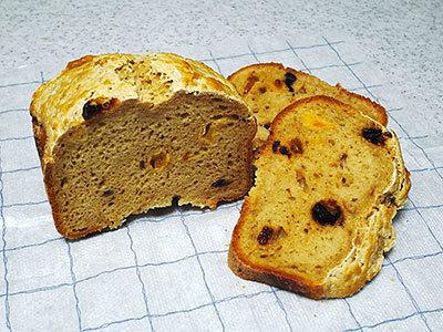 黒砂糖玄米パン