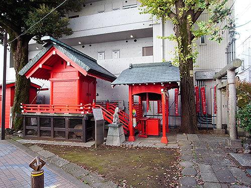 清水稲荷神社(目黒本町)