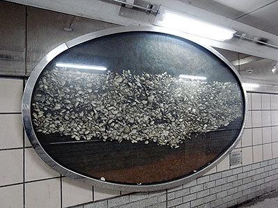 貝塚の模型