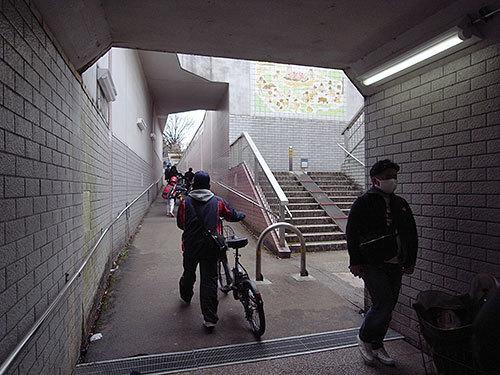 桐畑地下道(大井)