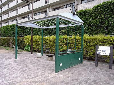 電車型休憩所(小山)