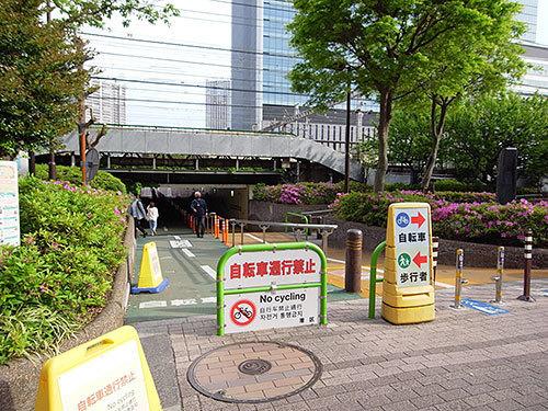 雑魚場架道橋(芝)